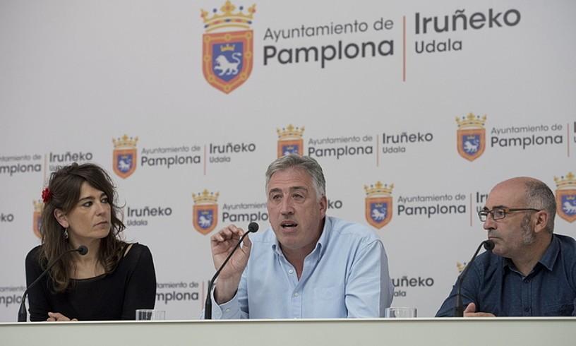 """Joseba Asiron: """"Eskuinari Iruñean agintzea eragozten ahaleginduko gara azken unera arte"""""""