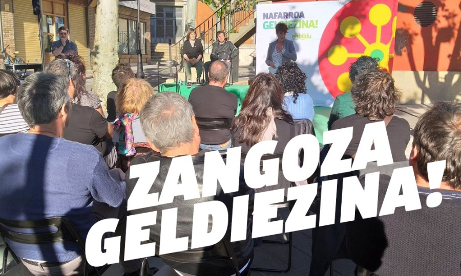 """Bakartxo Ruiz: """"Iraganera eraman nahi gaituzte eta Nafarroak 'aski da' esan du"""""""
