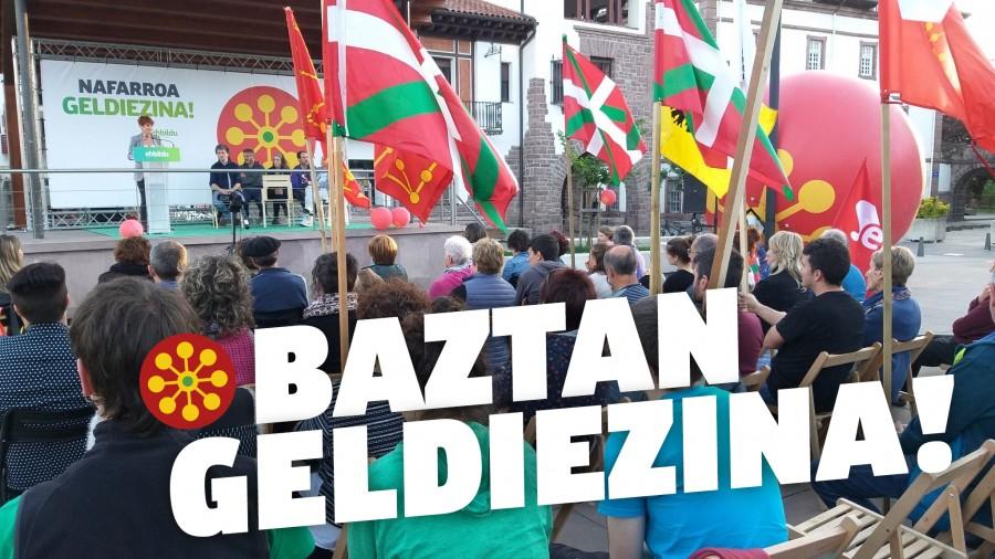 """Bakartxo Ruiz Baztanen: """"Autoritarismoari aurre egiteko borrokan jarraitzea dagokigu orain, geldiezinak gara"""""""
