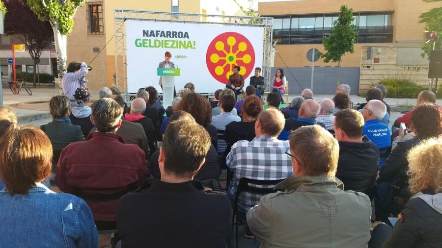 """Bakartxo Ruiz Tuteran: """"Las derechas y el PSN tienen un único plan que es desandar el camino que hemos empezado a caminar"""""""